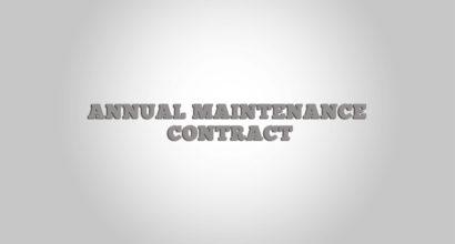 annual maintanace